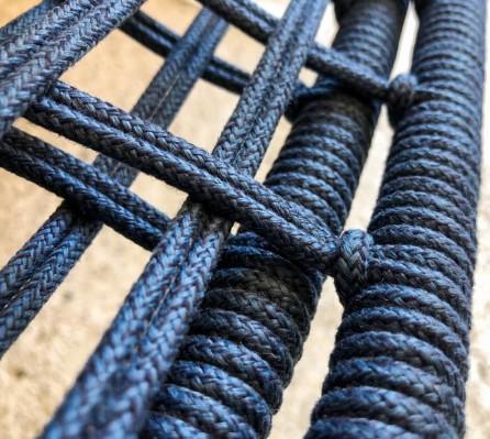 Intreccio blu navy